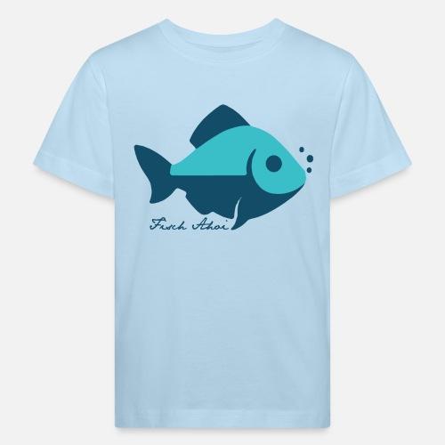 Fisch Ahoi - Kinder Bio-T-Shirt