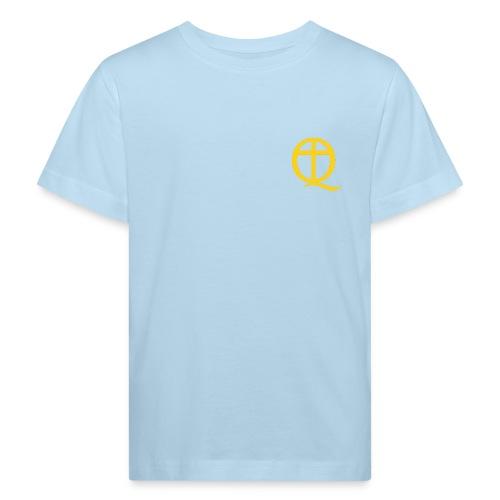 QC Gul - Ekologisk T-shirt barn