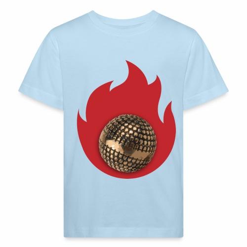 petanque fire - T-shirt bio Enfant