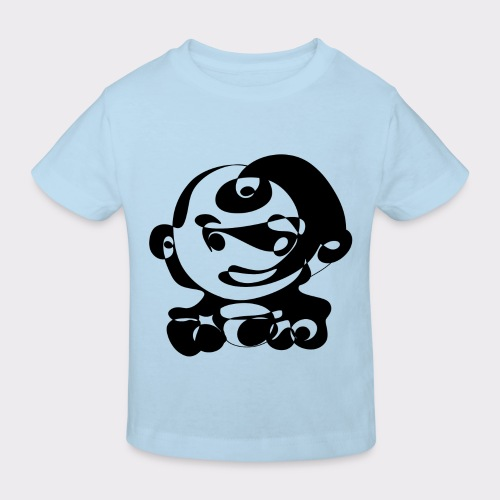 Suesses Baby Lineart Style - Kinder Bio-T-Shirt