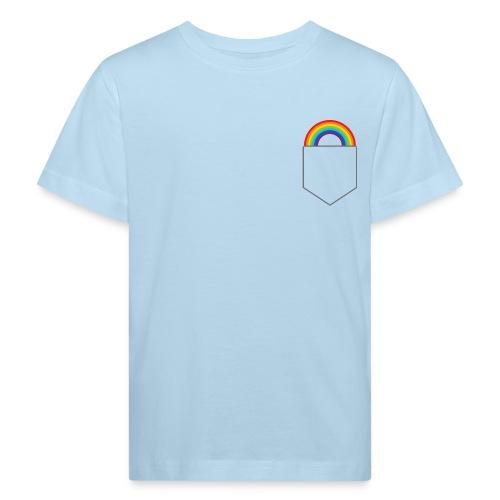 Lomme regnbue - Organic børne shirt