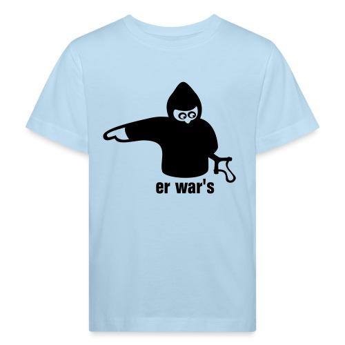 er war's - links - Kinder Bio-T-Shirt