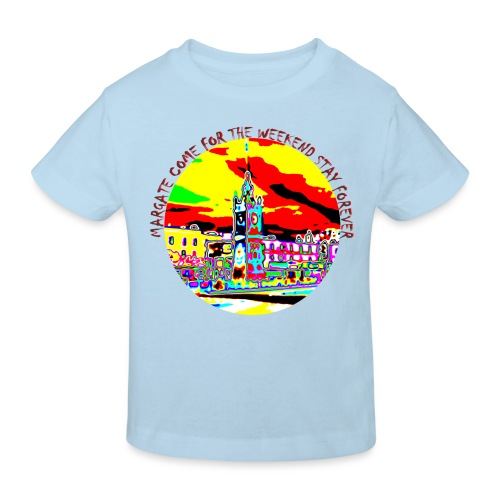 Come for the weekend! - Kids' Organic T-Shirt