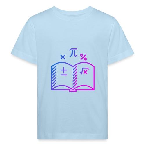 Wiskunde Boek - Kinderen Bio-T-shirt