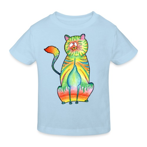 LEO,s CAT - Kinder Bio-T-Shirt