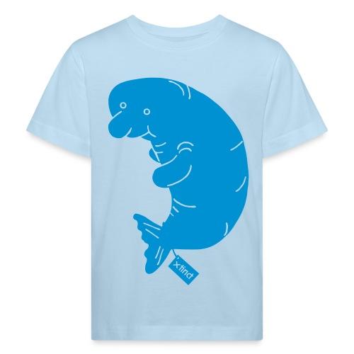 Sand/charcoal Seekuh - Riesenseekuh Langarmshirts - Kinder Bio-T-Shirt