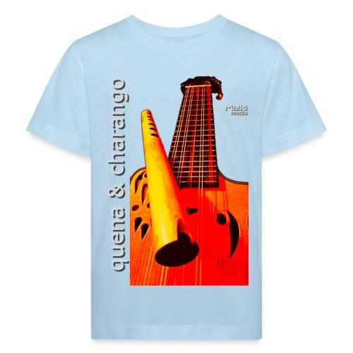 Quena y Charango I bis - Camiseta ecológica niño