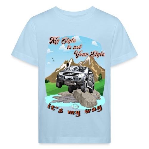 Montero / Pajero V60 My Style is not your style - Camiseta ecológica niño