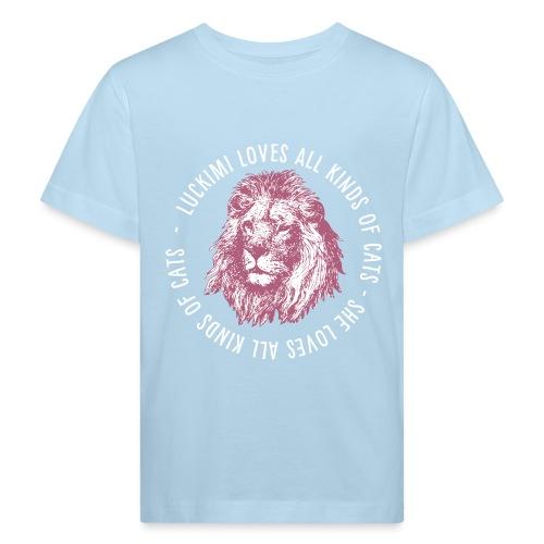 All kinds of cats - Barn - Kids' Organic T-Shirt