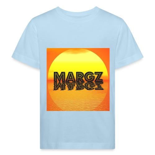 Sunset over Margz - Kids' Organic T-Shirt
