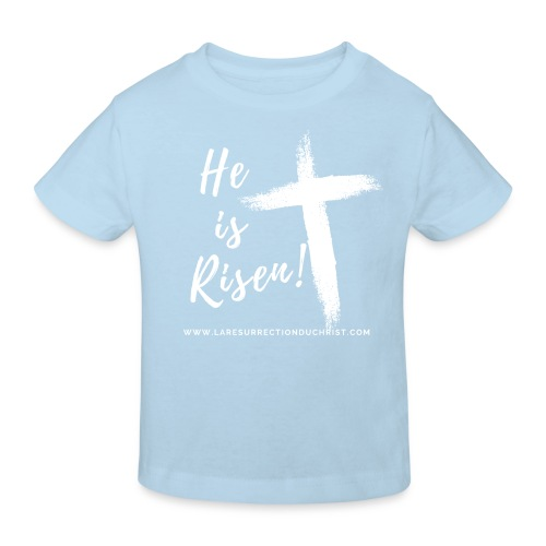 He is Risen ! V2 (Il est ressuscité !) - T-shirt bio Enfant