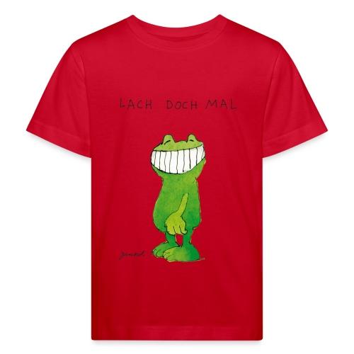 Janoschs Günter Kastenfrosch Just Smile - Kinder Bio-T-Shirt