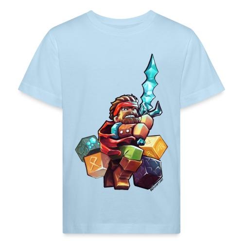 BDcraft Hero - Kids' Organic T-Shirt