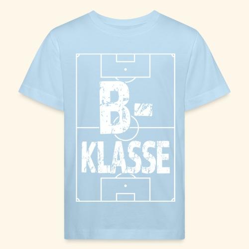 B-Klasse im Fußballfeld - Kinder Bio-T-Shirt