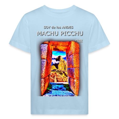 SOJA de los ANDES - Machu Picchu I - Camiseta ecológica niño