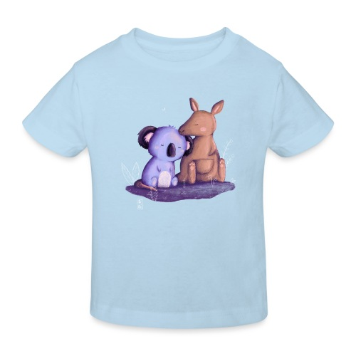 Koala und Känguru - Kinder Bio-T-Shirt