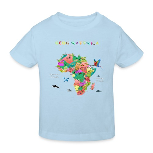 I love Africa - Kinder Bio-T-Shirt
