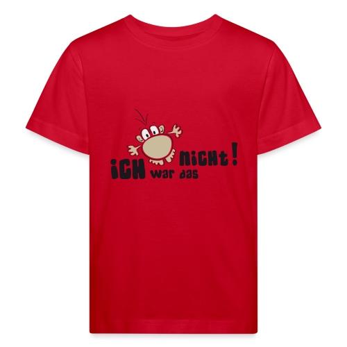 Ich war das nicht - Kinder Bio-T-Shirt