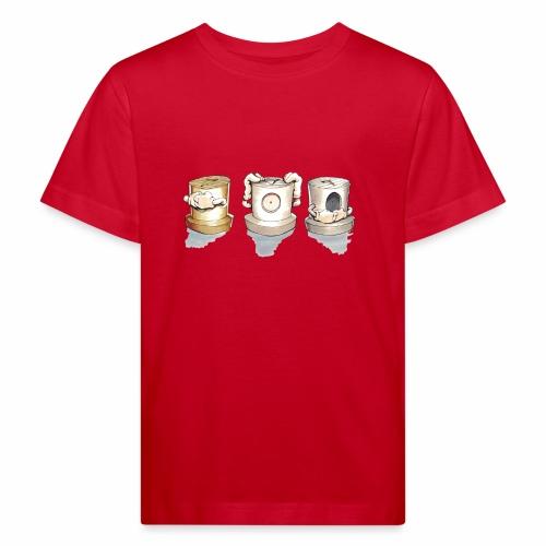 Dont Rasmus Balstrøm colors - Organic børne shirt