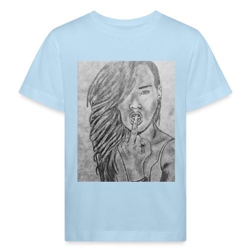 Jyrks_kunstdesign - Organic børne shirt