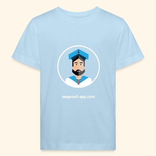 SeaProof App - Kinder Bio-T-Shirt