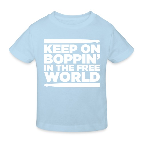 Keep on Boppin' - Kids' Organic T-Shirt