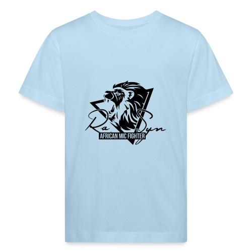The african mic fighter black - Kinder Bio-T-Shirt