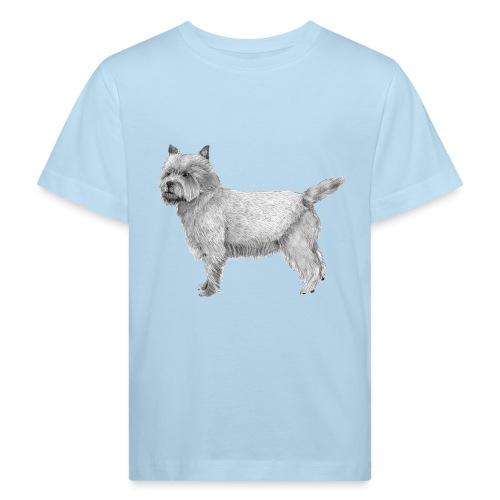 cairn terrier - Organic børne shirt