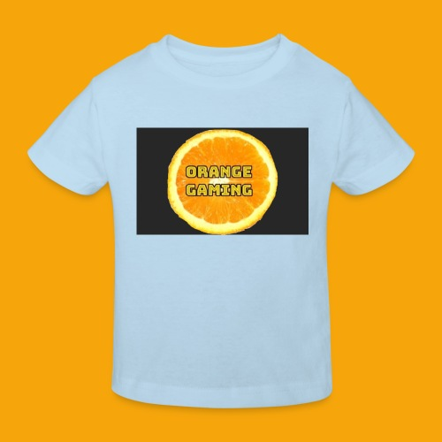 Orange_Logo_Black - Kids' Organic T-Shirt