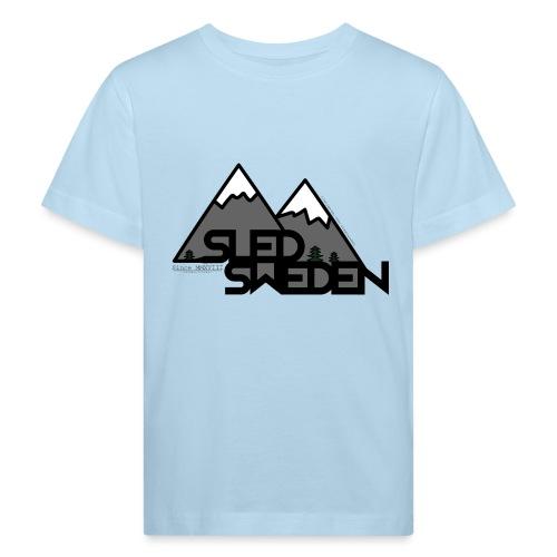 SledSweden Logo - Ekologisk T-shirt barn