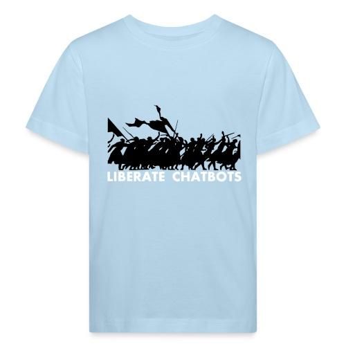 LiberateChatbots - T-shirt bio Enfant