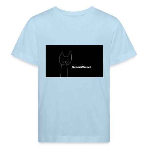 biisonivauva - Lasten luonnonmukainen t-paita