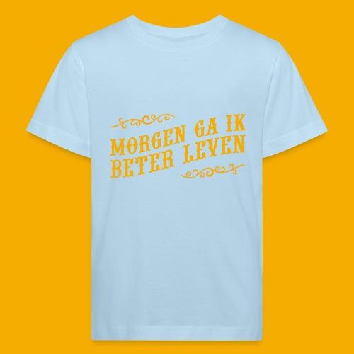 tshirt yllw 01 - Kinderen Bio-T-shirt