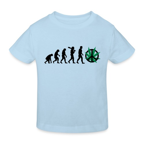 Evolution Cannabis - Kinder Bio-T-Shirt