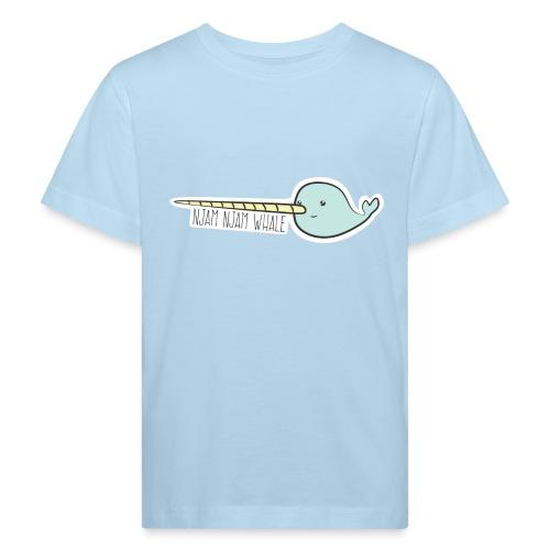 Njam Njam Whale - Kinder Bio-T-Shirt