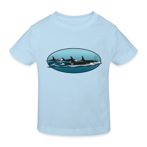 Orca - Kinderen Bio-T-shirt