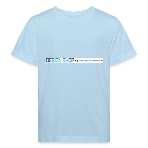 ny logo lang - Økologisk T-skjorte for barn