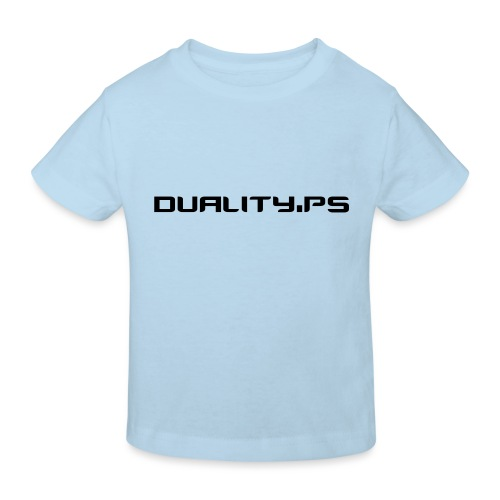 dualitypstext - Ekologisk T-shirt barn