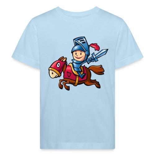 vl078b_ritter_4c - Kinder Bio-T-Shirt