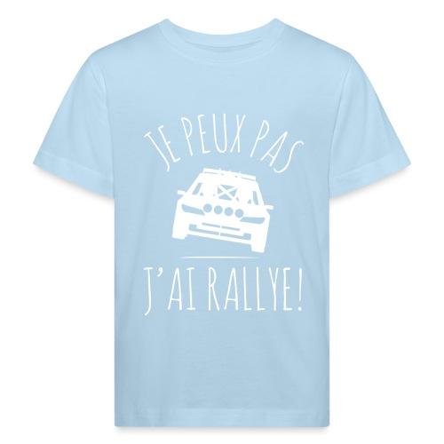 Je peux pas j'ai rallye 306 Maxi - T-shirt bio Enfant