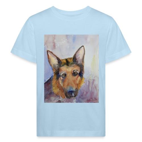 german shepherd wc - Organic børne shirt