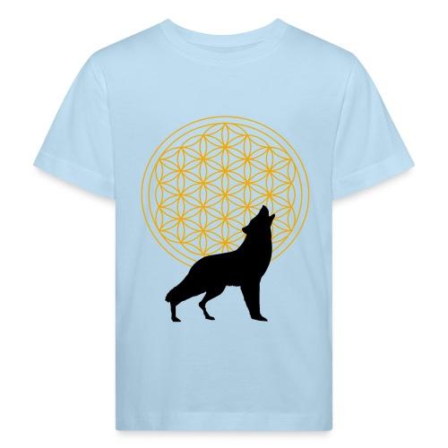 fleur de vie loup n°2 - T-shirt bio Enfant