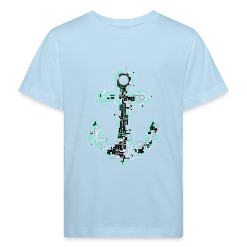 Cyber Anker Tshirt ✅ Elektro Anker Tshirt - Kinder Bio-T-Shirt