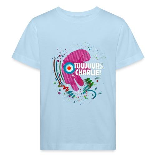 Toujours Charlie interprété par l'artiste C215 - T-shirt bio Enfant
