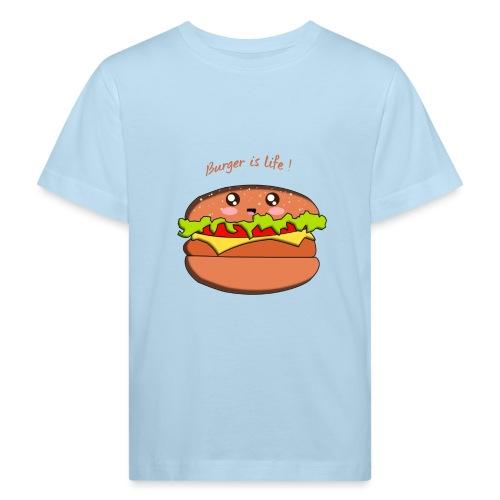 hamburger - T-shirt bio Enfant