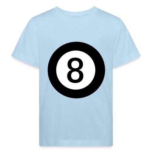 Black 8 - Kids' Organic T-Shirt