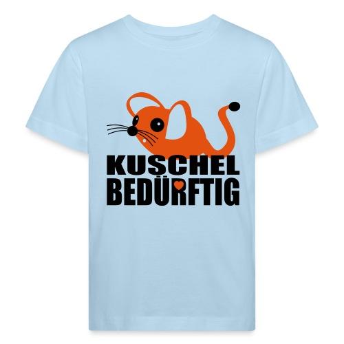 Mausi will kuscheln! - Kinder Bio-T-Shirt