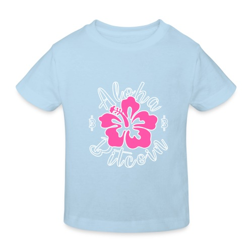 Aloha Bitcoin! - Camiseta ecológica niño