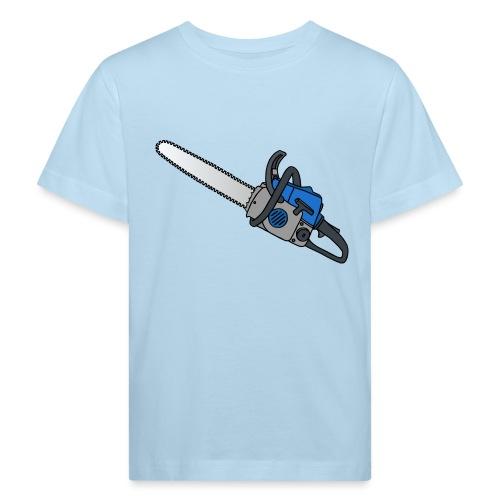 Kettensäge - Kinder Bio-T-Shirt