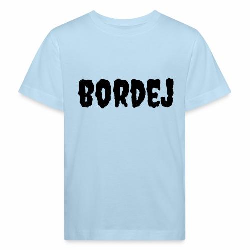 bordej balck - Maglietta ecologica per bambini